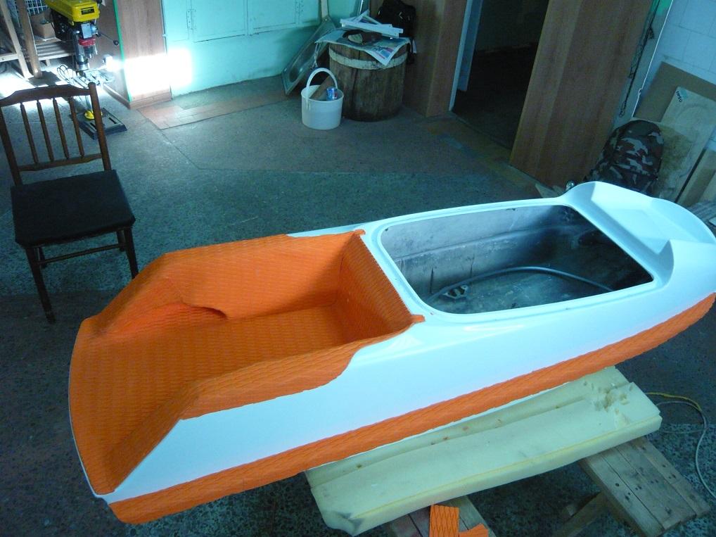 как отремонтировать лодку стеклопластиковую